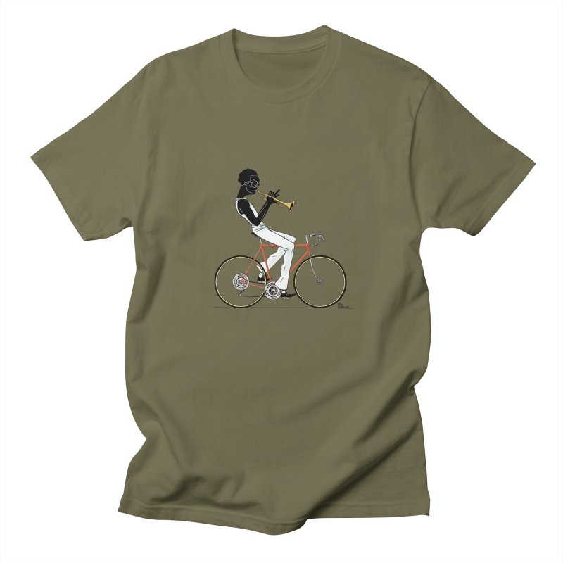 MILES BY BICYCLE Men's T-Shirt by Dustin Harbin's Sweet T's!