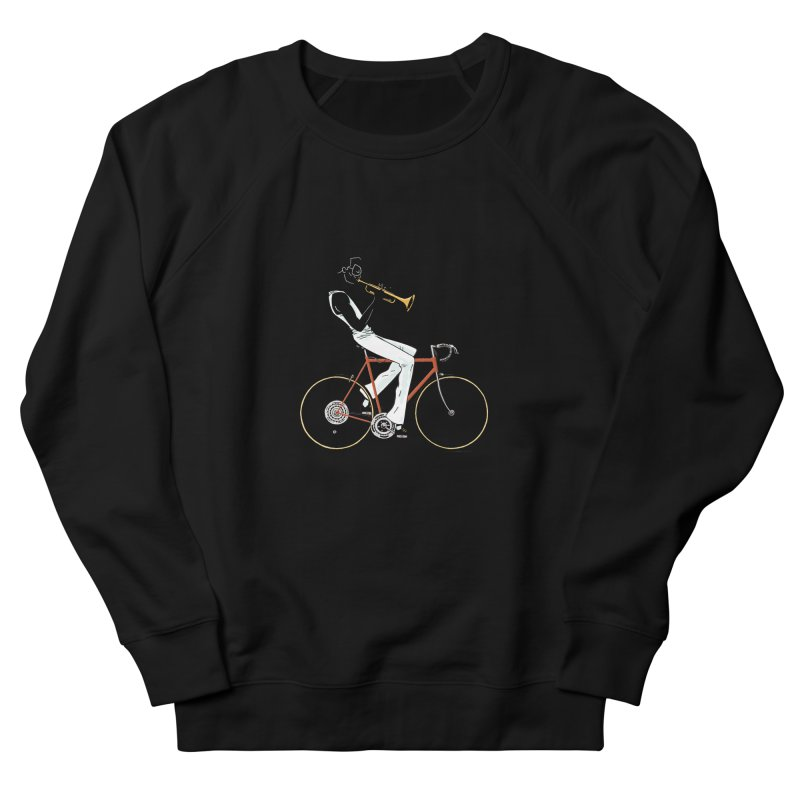 MILES BY BICYCLE Men's Sweatshirt by Dustin Harbin's Sweet T's!