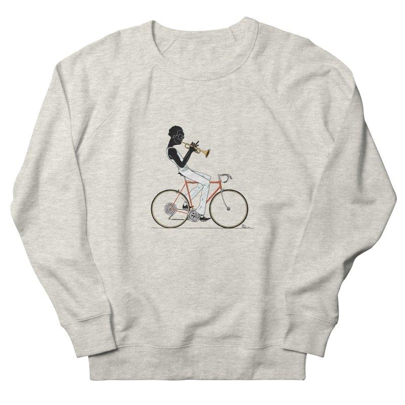 MILES BY BICYCLE Men's Sweatshirt by Dustin Harbin's Sweet T's!