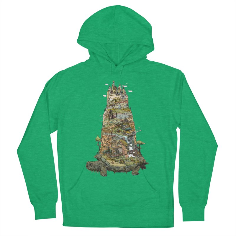 THE TORTOISE. Women's Pullover Hoody by Dustin Harbin's Sweet T's!