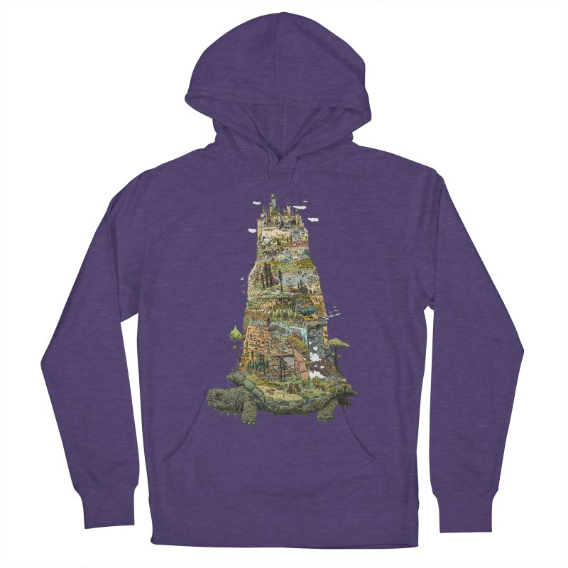 THE TORTOISE. Women's French Terry Pullover Hoody by Dustin Harbin's Sweet T's!