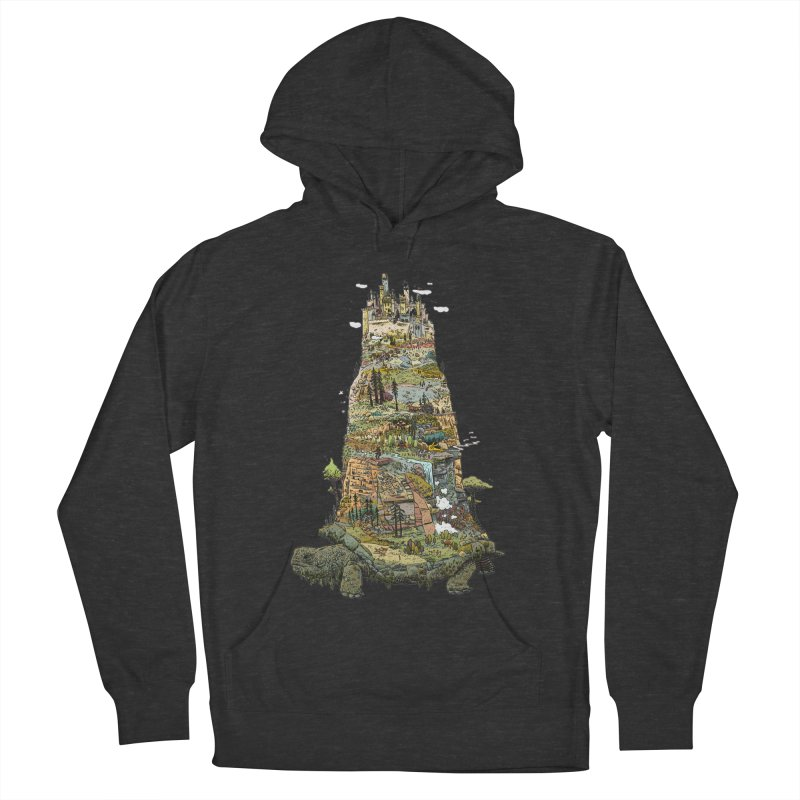THE TORTOISE. Men's Pullover Hoody by Dustin Harbin's Sweet T's!