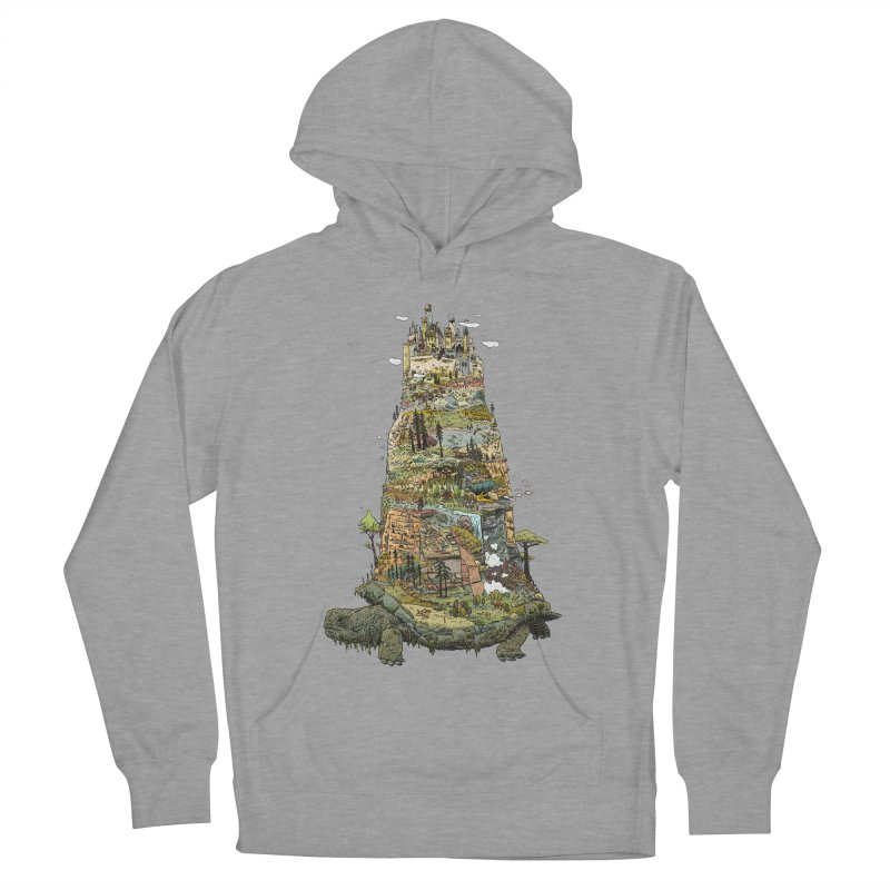 THE TORTOISE. Men's French Terry Pullover Hoody by Dustin Harbin's Sweet T's!