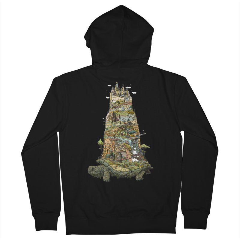 THE TORTOISE. Women's Zip-Up Hoody by Dustin Harbin's Sweet T's!