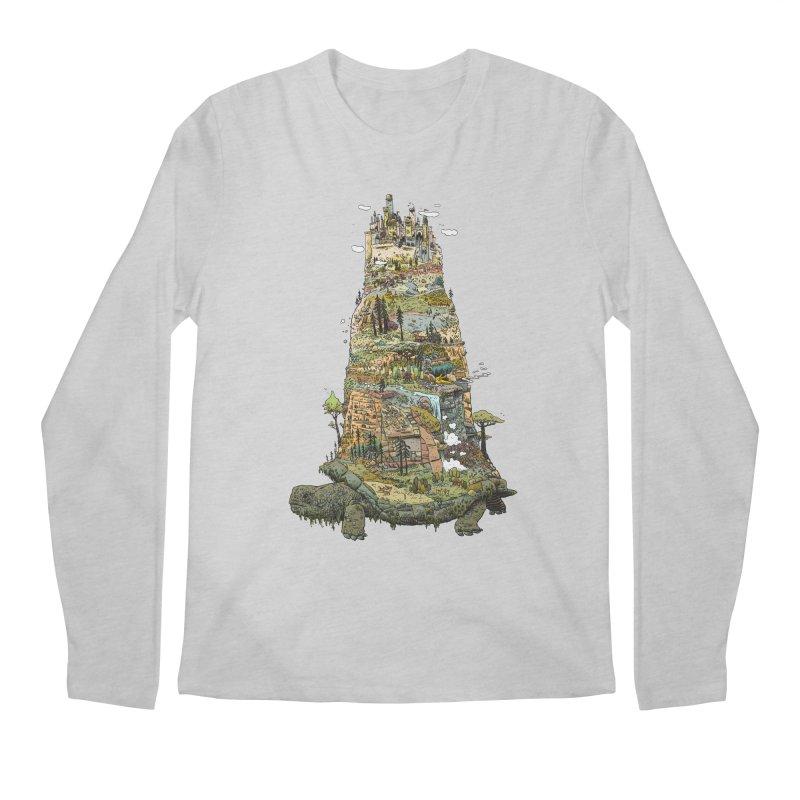THE TORTOISE. Men's Longsleeve T-Shirt by Dustin Harbin's Sweet T's!
