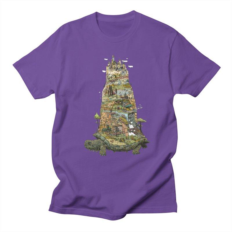 THE TORTOISE. Men's T-Shirt by Dustin Harbin's Sweet T's!