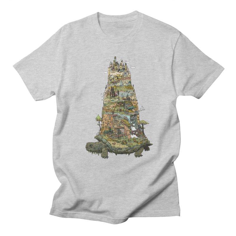 THE TORTOISE. Men's Regular T-Shirt by Dustin Harbin's Sweet T's!
