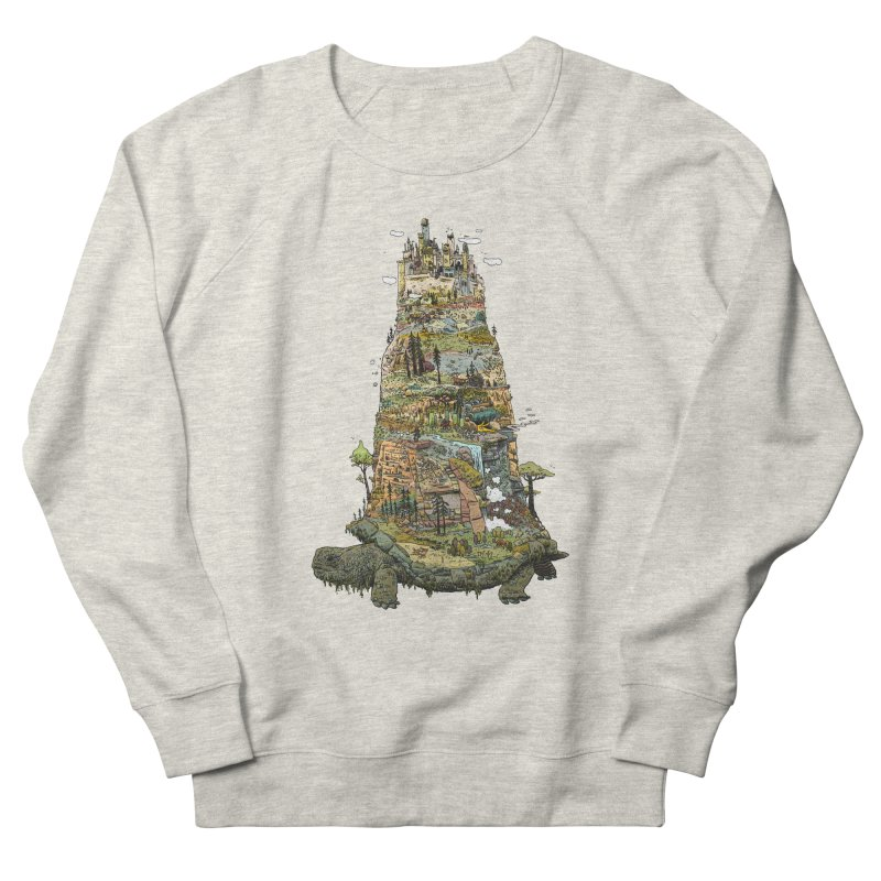 THE TORTOISE. Women's French Terry Sweatshirt by Dustin Harbin's Sweet T's!