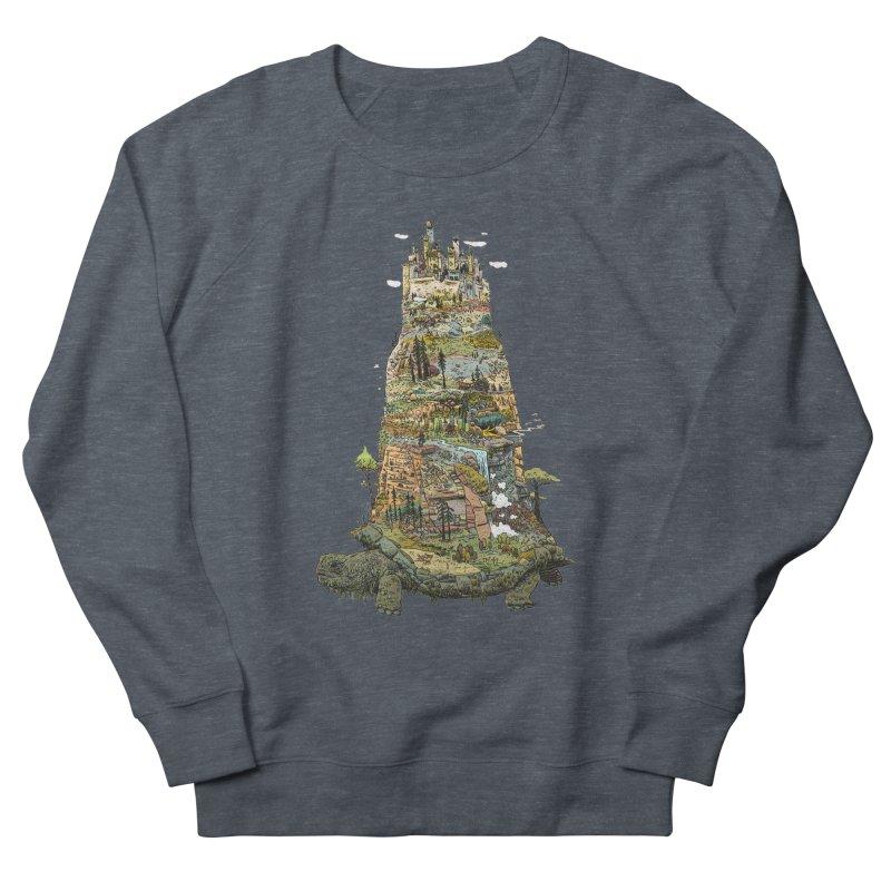 THE TORTOISE. Men's French Terry Sweatshirt by Dustin Harbin's Sweet T's!
