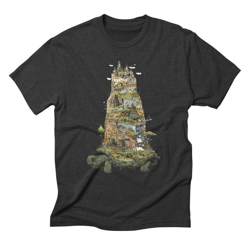 THE TORTOISE. Men's Triblend T-shirt by Dustin Harbin's Sweet T's!