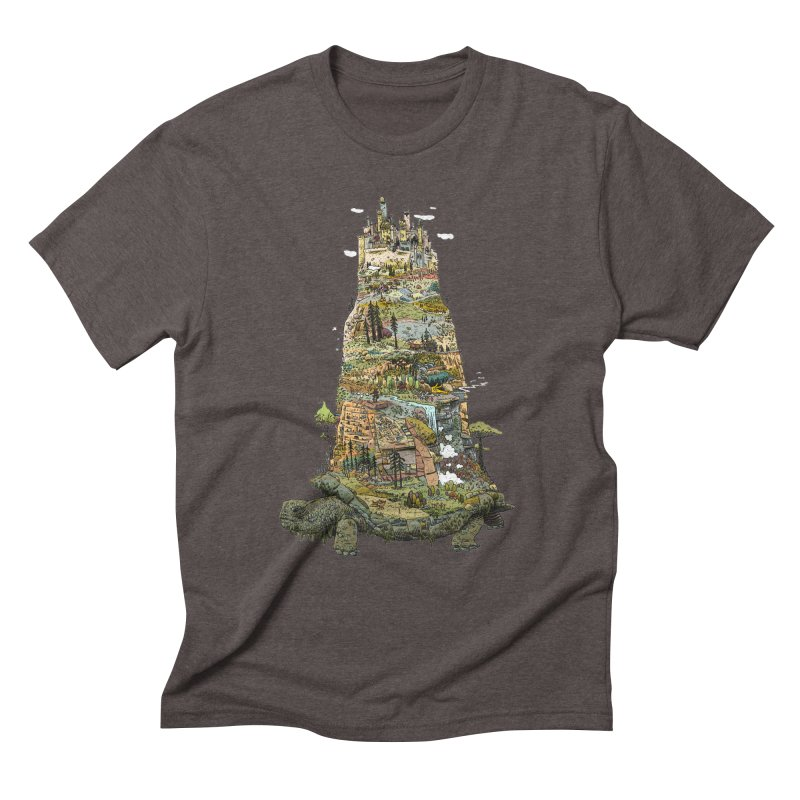 THE TORTOISE. Men's Triblend T-Shirt by Dustin Harbin's Sweet T's!