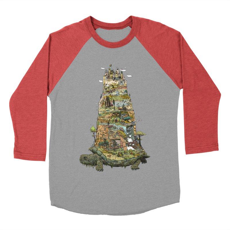 THE TORTOISE. Men's Baseball Triblend T-Shirt by Dustin Harbin's Sweet T's!