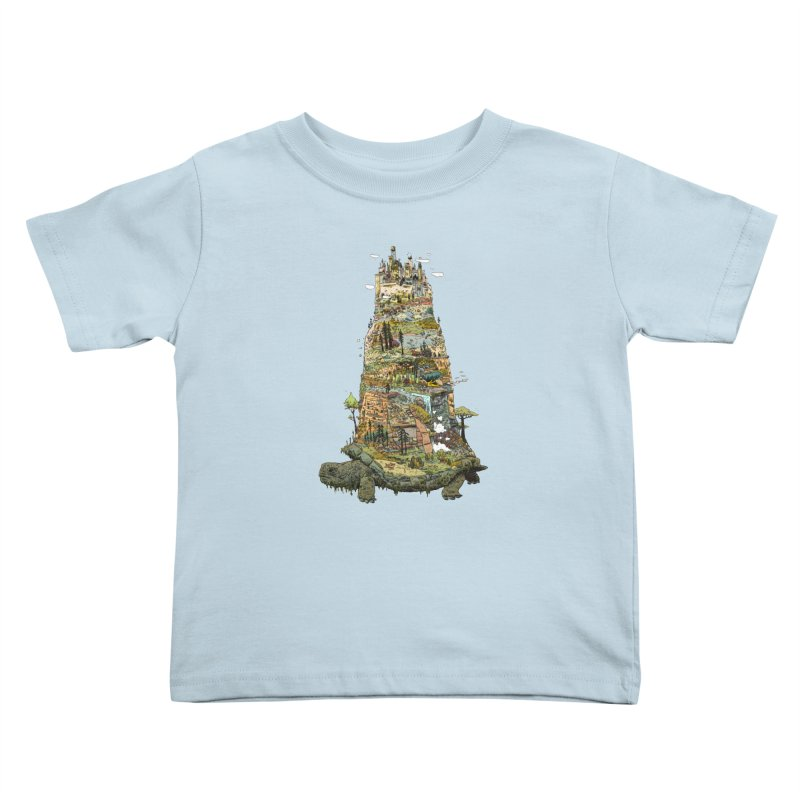 THE TORTOISE. Kids Toddler T-Shirt by Dustin Harbin's Sweet T's!