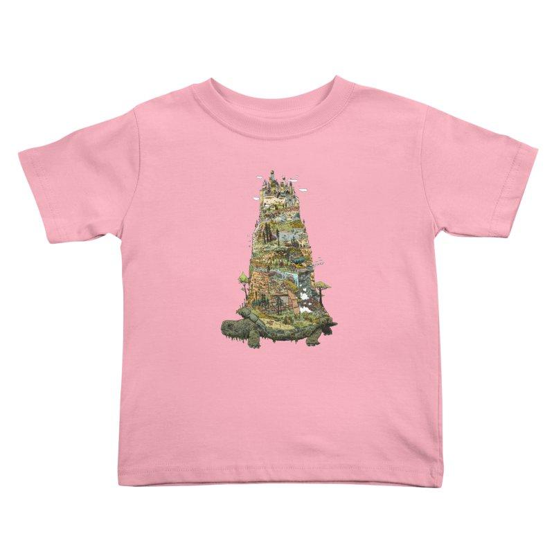 THE TORTOISE. Kids Toddler T-Shirt by Dustin Harbin's Sweet T's!