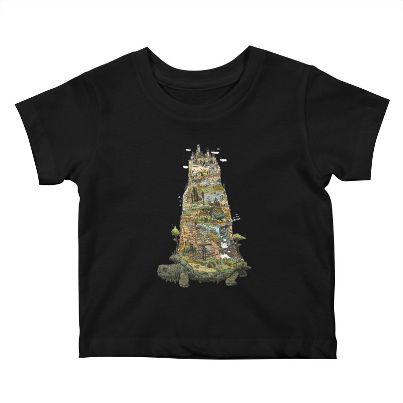 THE TORTOISE. Kids Baby T-Shirt by Dustin Harbin's Sweet T's!