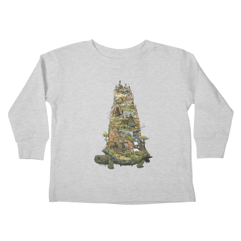 THE TORTOISE. Kids Toddler Longsleeve T-Shirt by Dustin Harbin's Sweet T's!