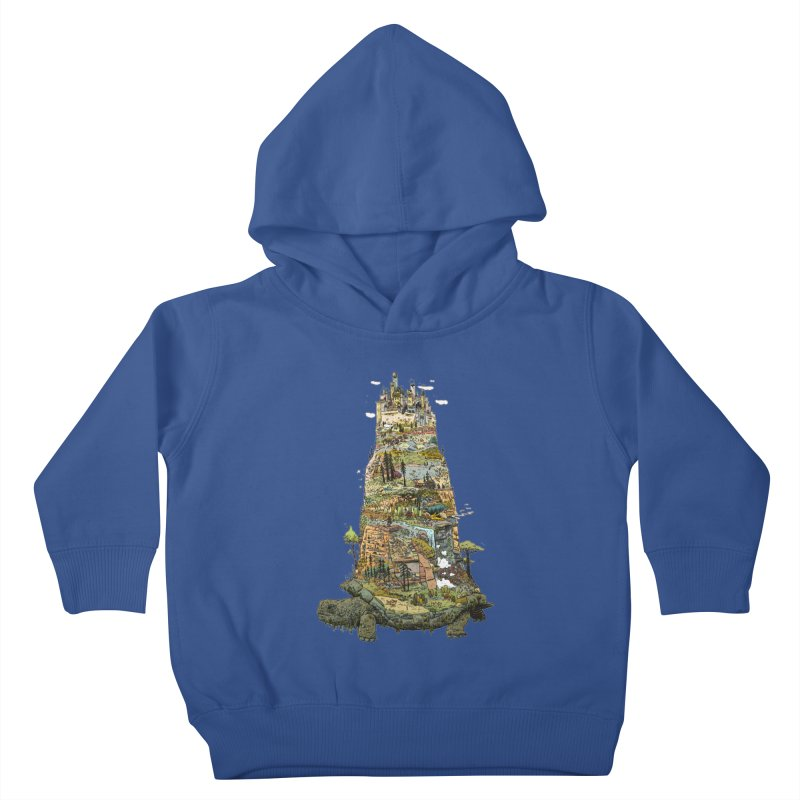 THE TORTOISE. Kids Toddler Pullover Hoody by Dustin Harbin's Sweet T's!