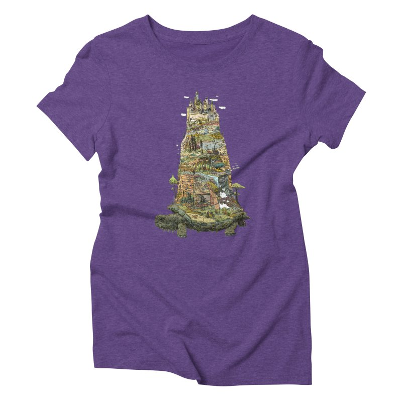THE TORTOISE. Women's Triblend T-shirt by Dustin Harbin's Sweet T's!