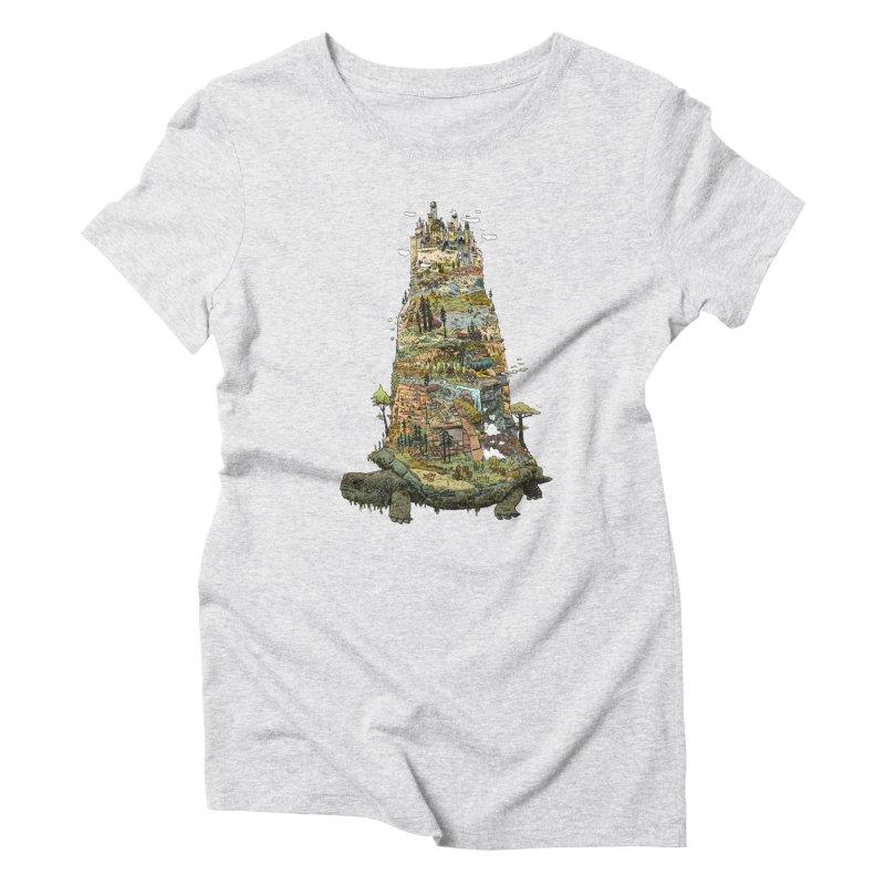 THE TORTOISE. Women's Triblend T-Shirt by Dustin Harbin's Sweet T's!