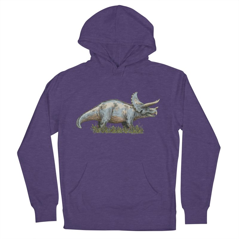 BEHOLD! THE TRICERATOPS! Women's Pullover Hoody by Dustin Harbin's Sweet T's!