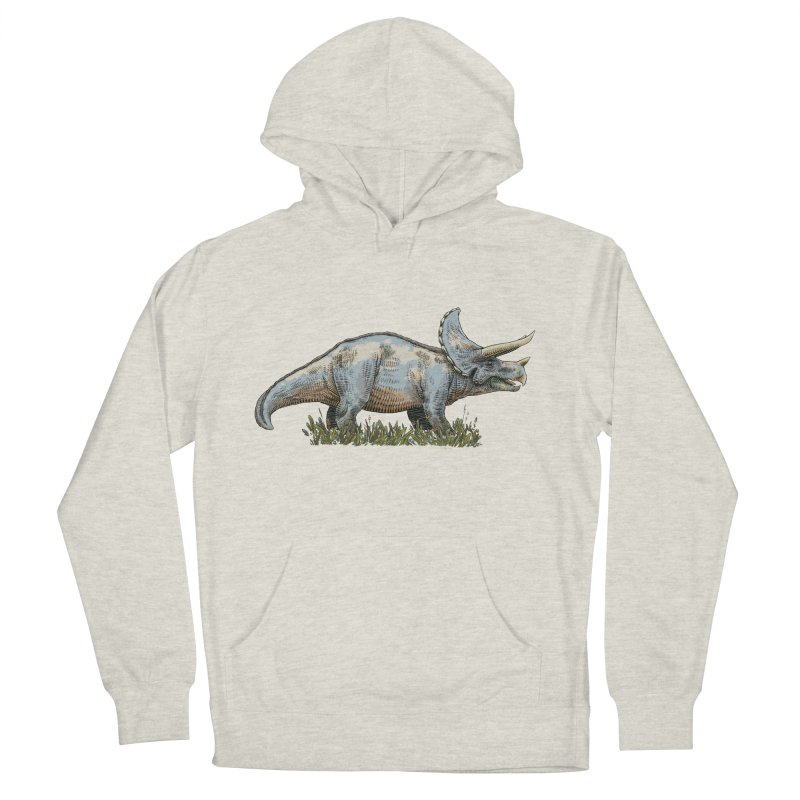 BEHOLD! THE TRICERATOPS! Men's Pullover Hoody by Dustin Harbin's Sweet T's!