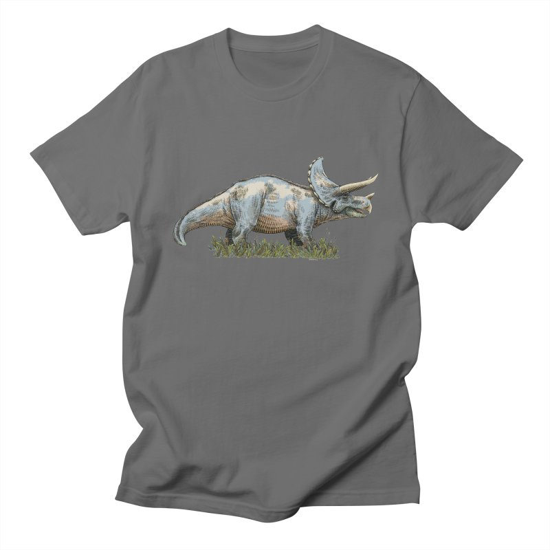 BEHOLD! THE TRICERATOPS! Men's T-Shirt by Dustin Harbin's Sweet T's!