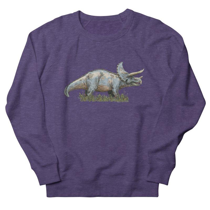 BEHOLD! THE TRICERATOPS! Women's Sweatshirt by Dustin Harbin's Sweet T's!