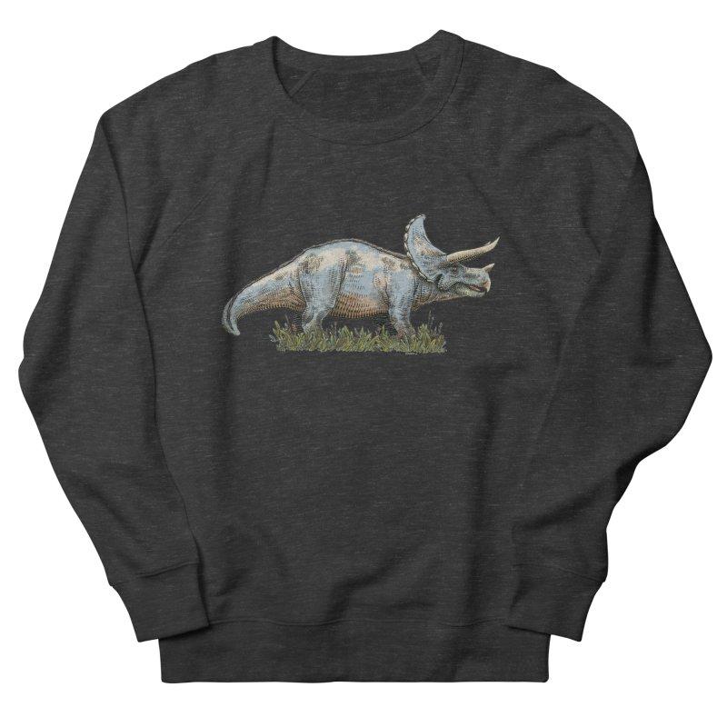 BEHOLD! THE TRICERATOPS! Men's Sweatshirt by Dustin Harbin's Sweet T's!