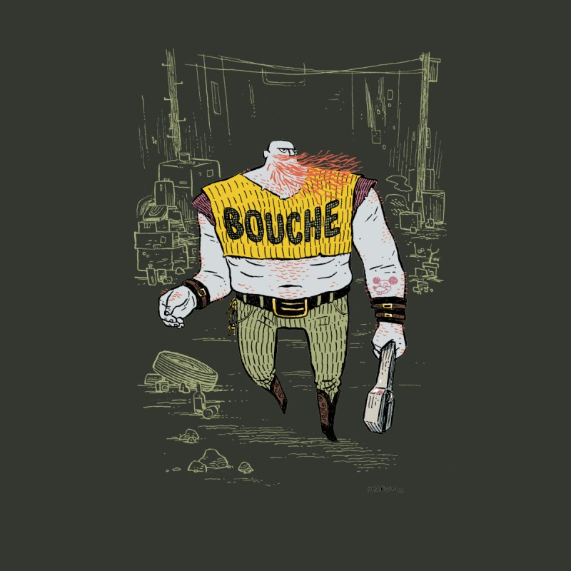 LA BOUCHE! Men's T-Shirt by Dustin Harbin's Sweet T's!