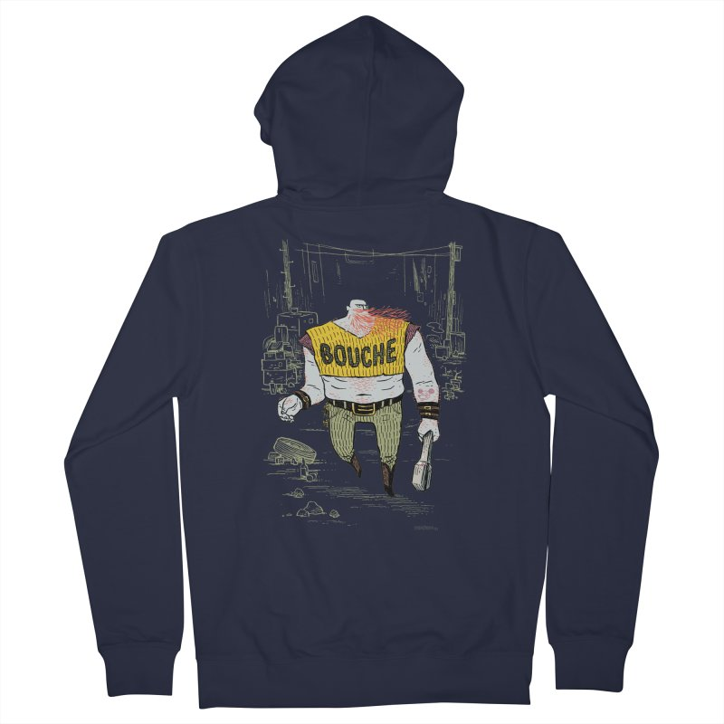 LA BOUCHE! Men's Zip-Up Hoody by Dustin Harbin's Sweet T's!