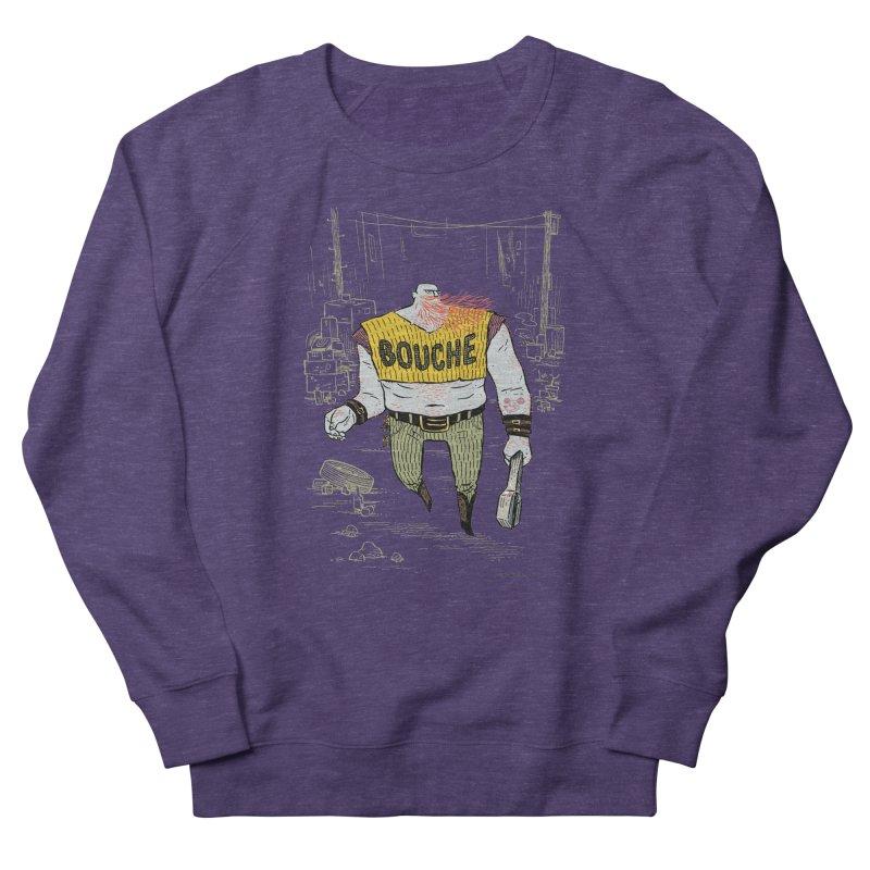 LA BOUCHE! Men's French Terry Sweatshirt by Dustin Harbin's Sweet T's!