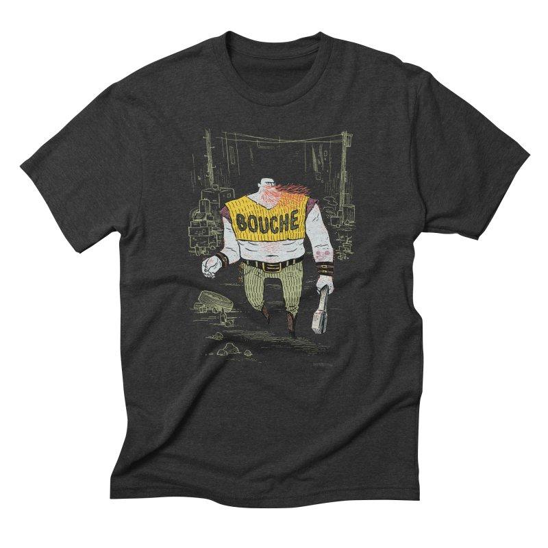 LA BOUCHE! Men's Triblend T-shirt by Dustin Harbin's Sweet T's!