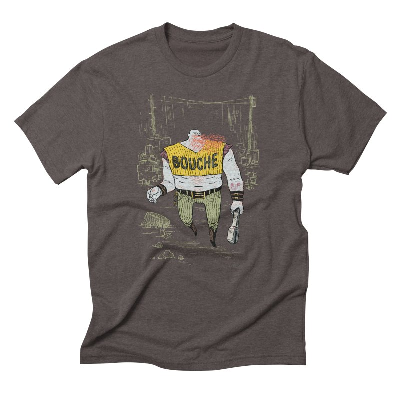 LA BOUCHE! Men's Triblend T-Shirt by Dustin Harbin's Sweet T's!