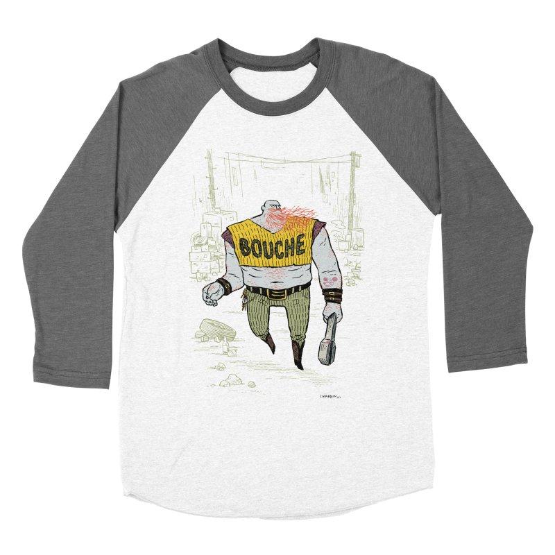 LA BOUCHE! Women's Baseball Triblend Longsleeve T-Shirt by Dustin Harbin's Sweet T's!