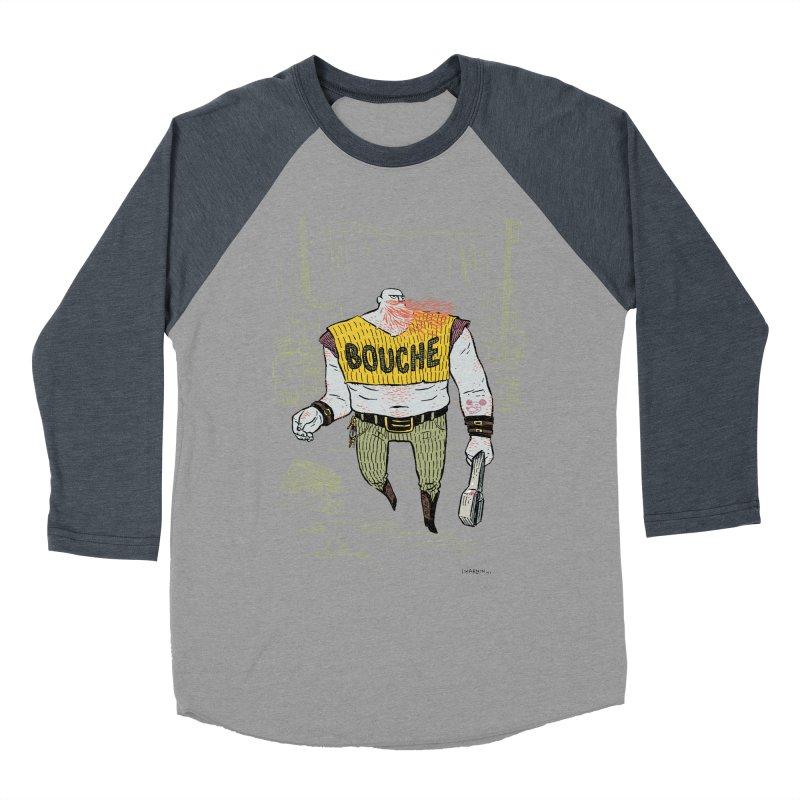 LA BOUCHE! Women's Baseball Triblend T-Shirt by Dustin Harbin's Sweet T's!