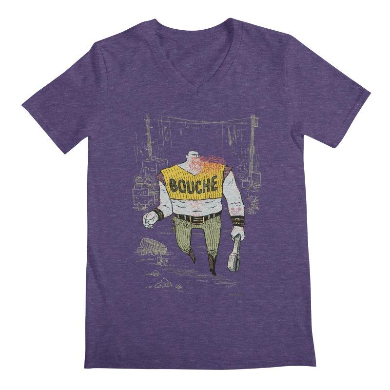LA BOUCHE! Men's Regular V-Neck by Dustin Harbin's Sweet T's!