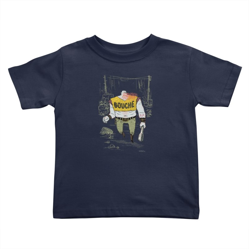 LA BOUCHE! Kids Toddler T-Shirt by Dustin Harbin's Sweet T's!