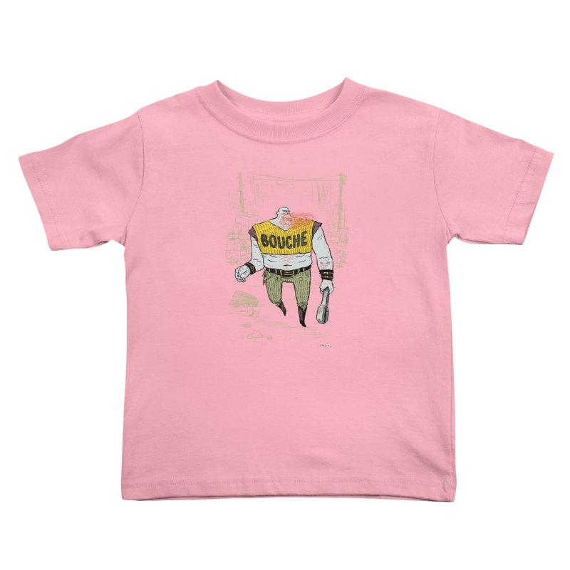LA BOUCHE! Kids Toddler T-Shirt by Dustin Harbin's Sweet T's!