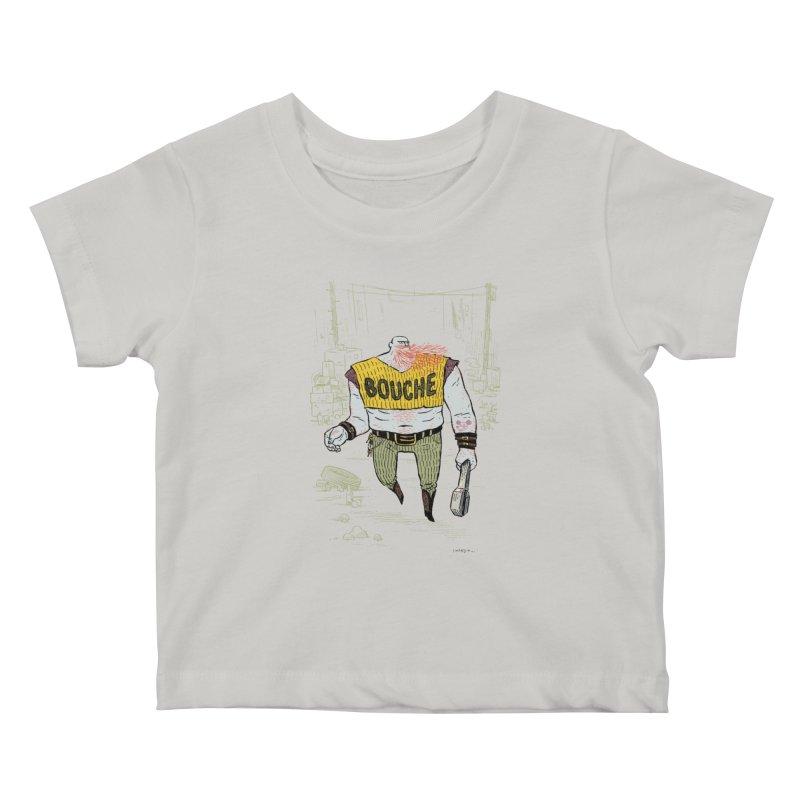 LA BOUCHE! Kids Baby T-Shirt by Dustin Harbin's Sweet T's!