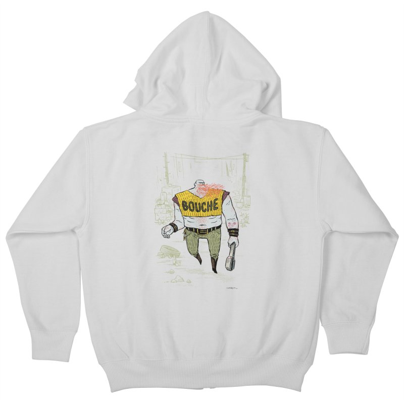 LA BOUCHE! Kids Zip-Up Hoody by Dustin Harbin's Sweet T's!