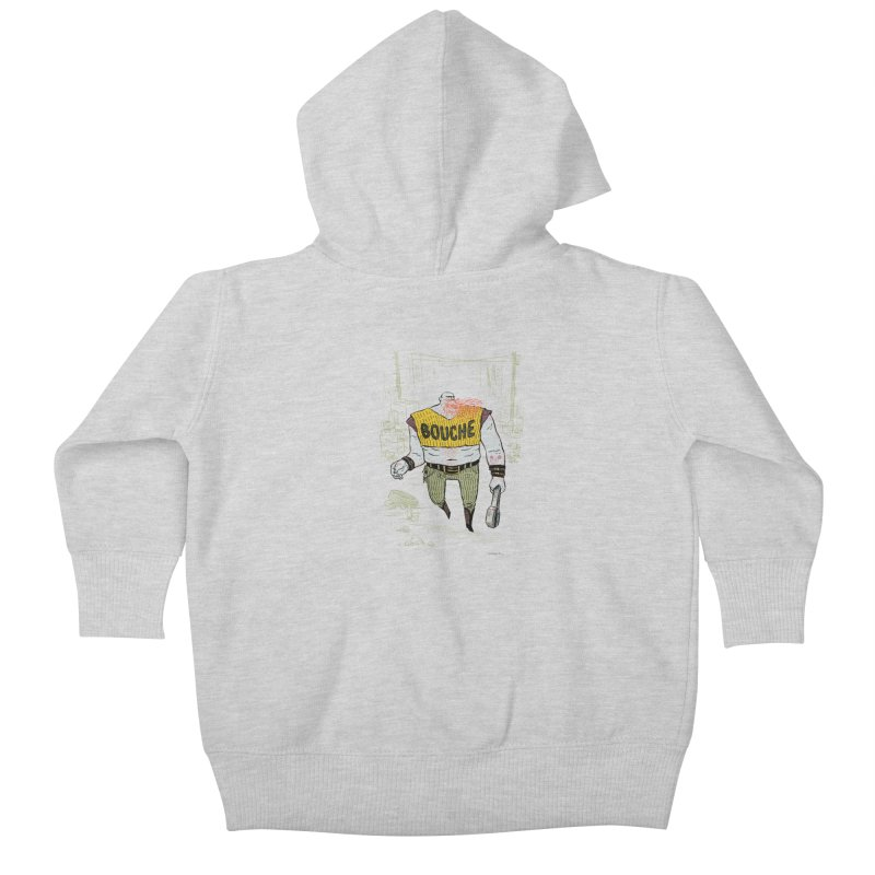 LA BOUCHE! Kids Baby Zip-Up Hoody by Dustin Harbin's Sweet T's!