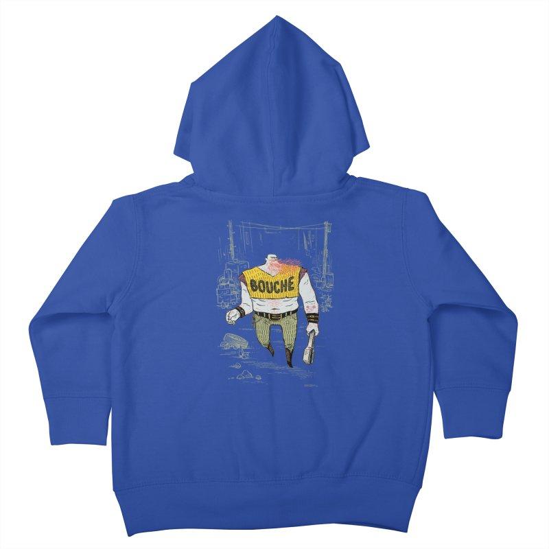 LA BOUCHE! Kids Toddler Zip-Up Hoody by Dustin Harbin's Sweet T's!