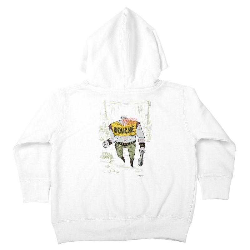LA BOUCHE! Kids Toddler Zip-Up Hoody by Dustin Harbin's Sweet T's!