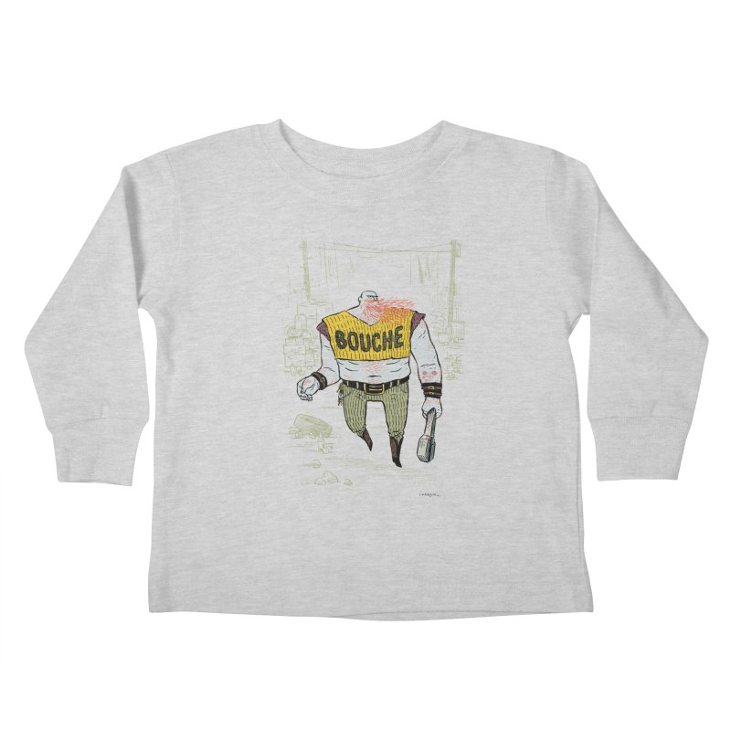 LA BOUCHE! Kids Toddler Longsleeve T-Shirt by Dustin Harbin's Sweet T's!