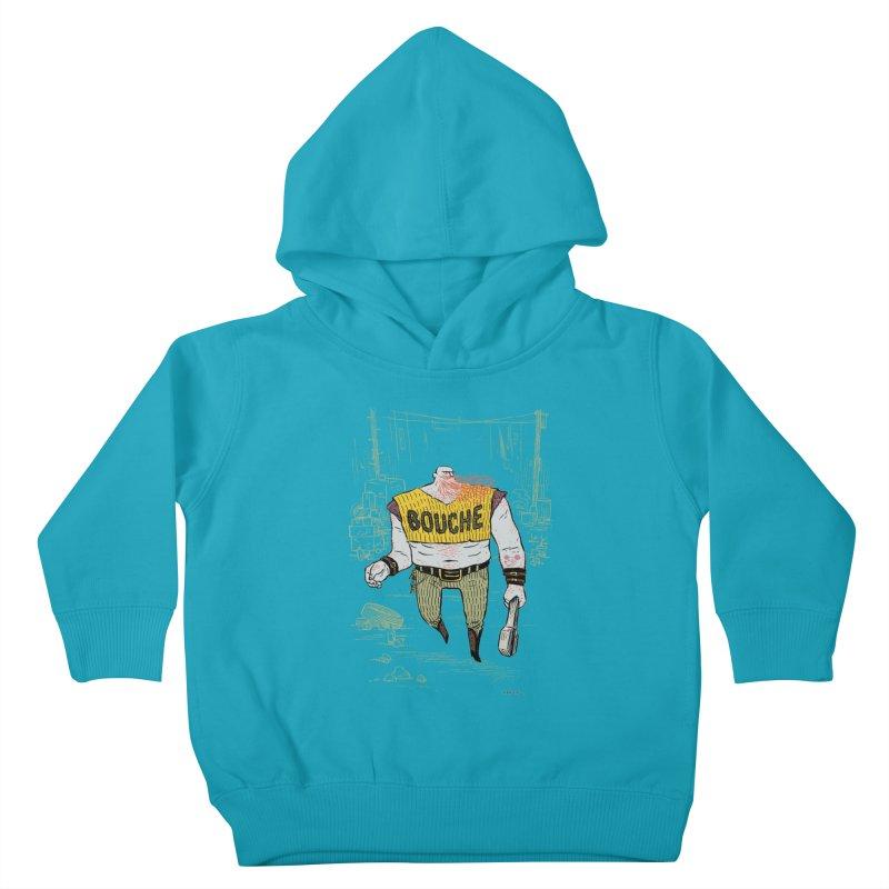 LA BOUCHE! Kids Toddler Pullover Hoody by Dustin Harbin's Sweet T's!
