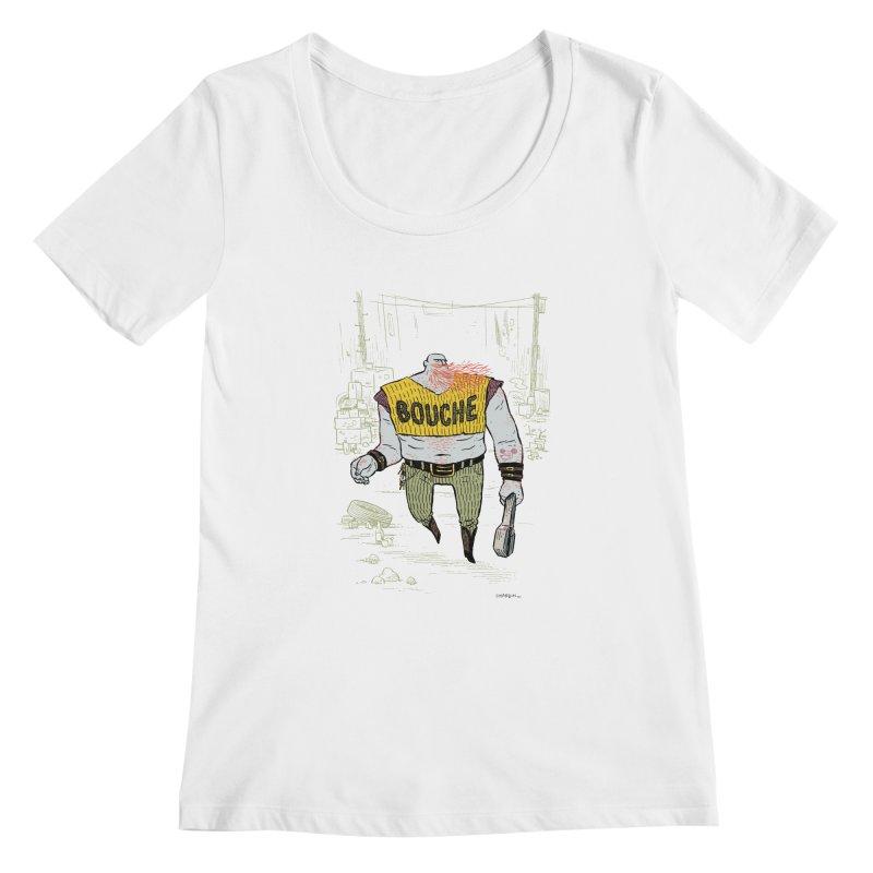 LA BOUCHE! Women's Scoopneck by Dustin Harbin's Sweet T's!