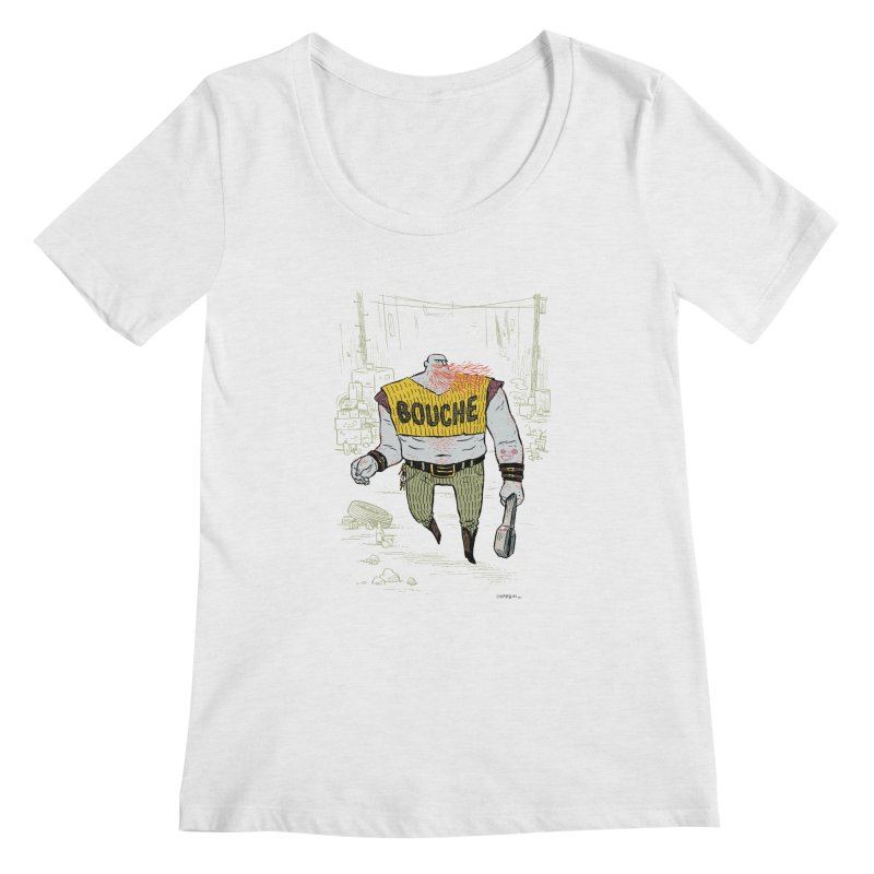 LA BOUCHE! Women's Scoop Neck by Dustin Harbin's Sweet T's!