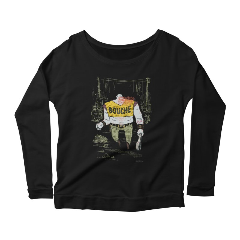 LA BOUCHE! Women's Longsleeve Scoopneck  by Dustin Harbin's Sweet T's!