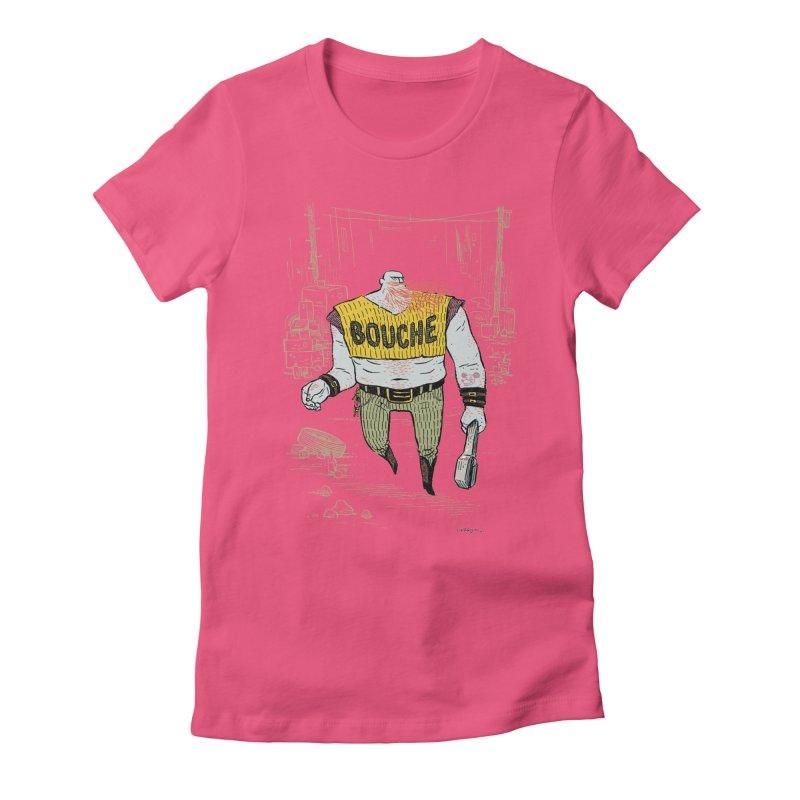 LA BOUCHE! Women's Fitted T-Shirt by Dustin Harbin's Sweet T's!