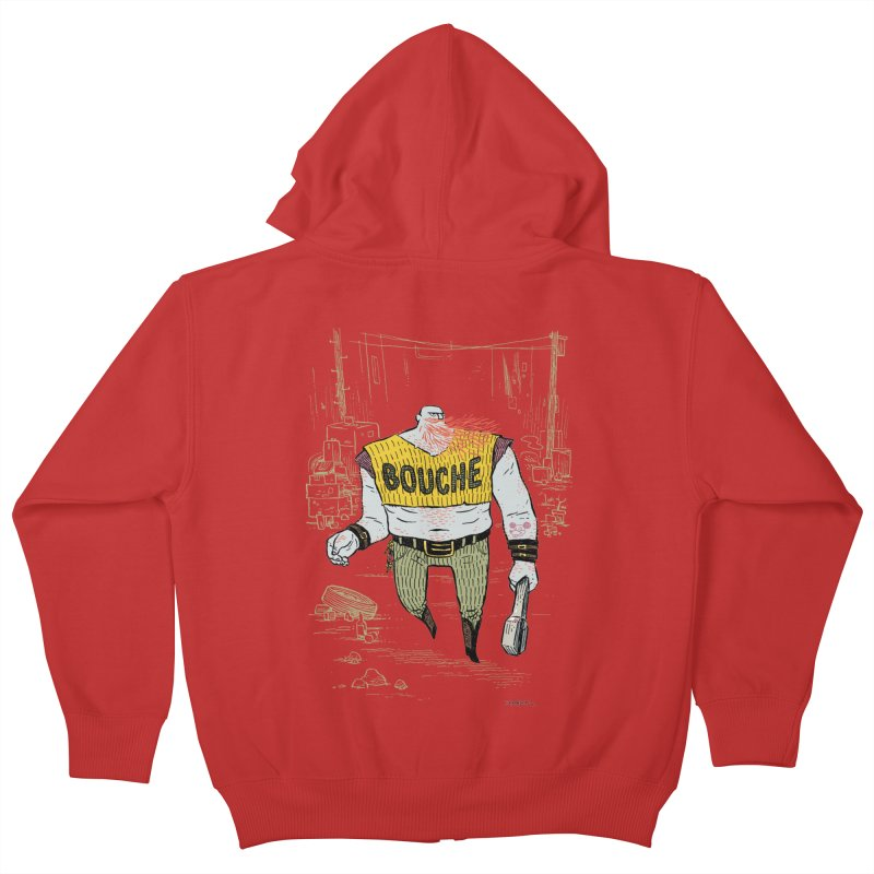 LA BOUCHE! Kids Zip-Up Hoody by Dustin Harbin's Sweet T's!